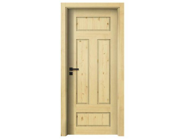 Bezpečné 5 bodové vstupní bytové dveře